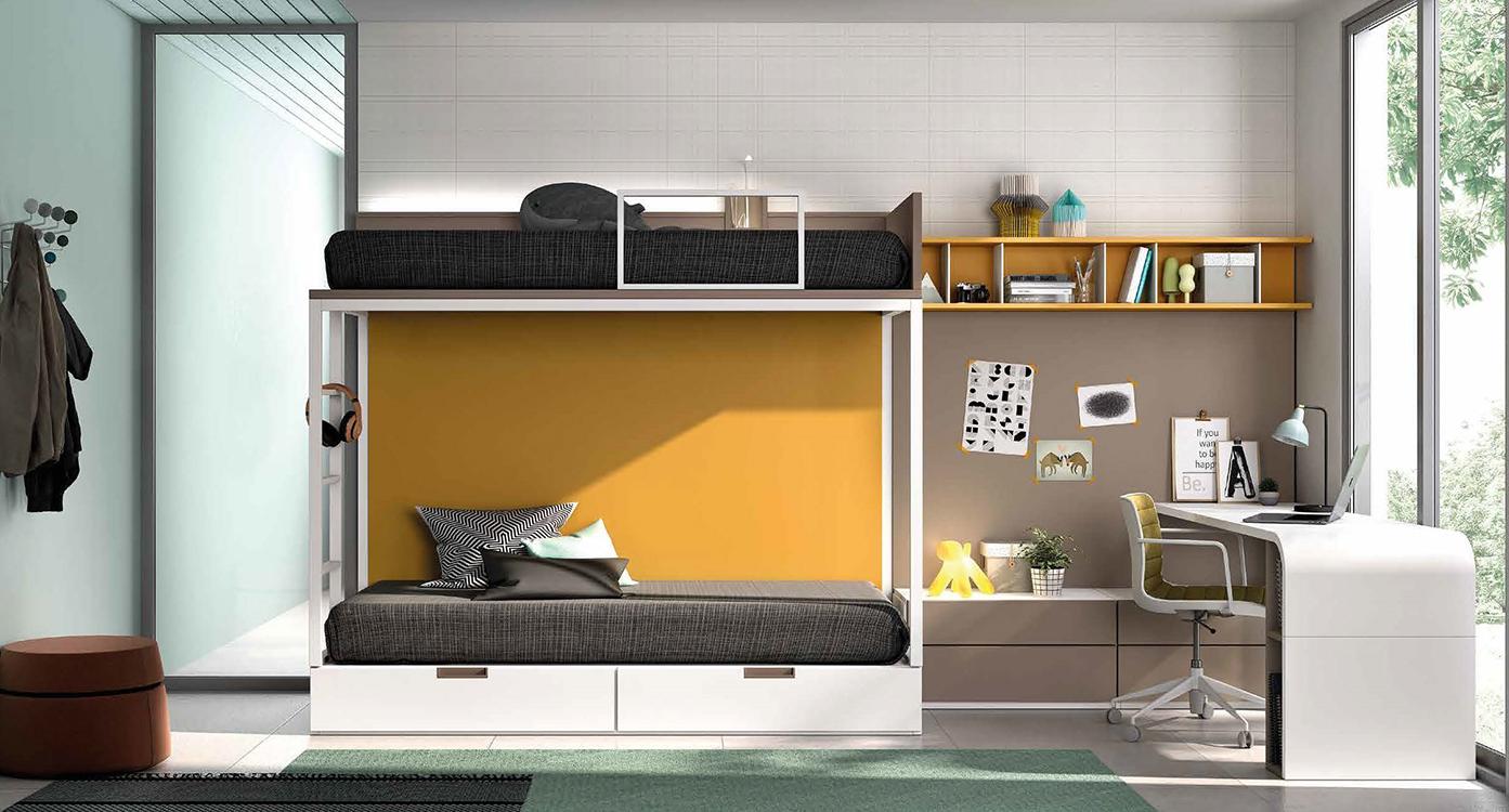 Cabeceros de cama originales para ni os for Dormitorios completos baratos