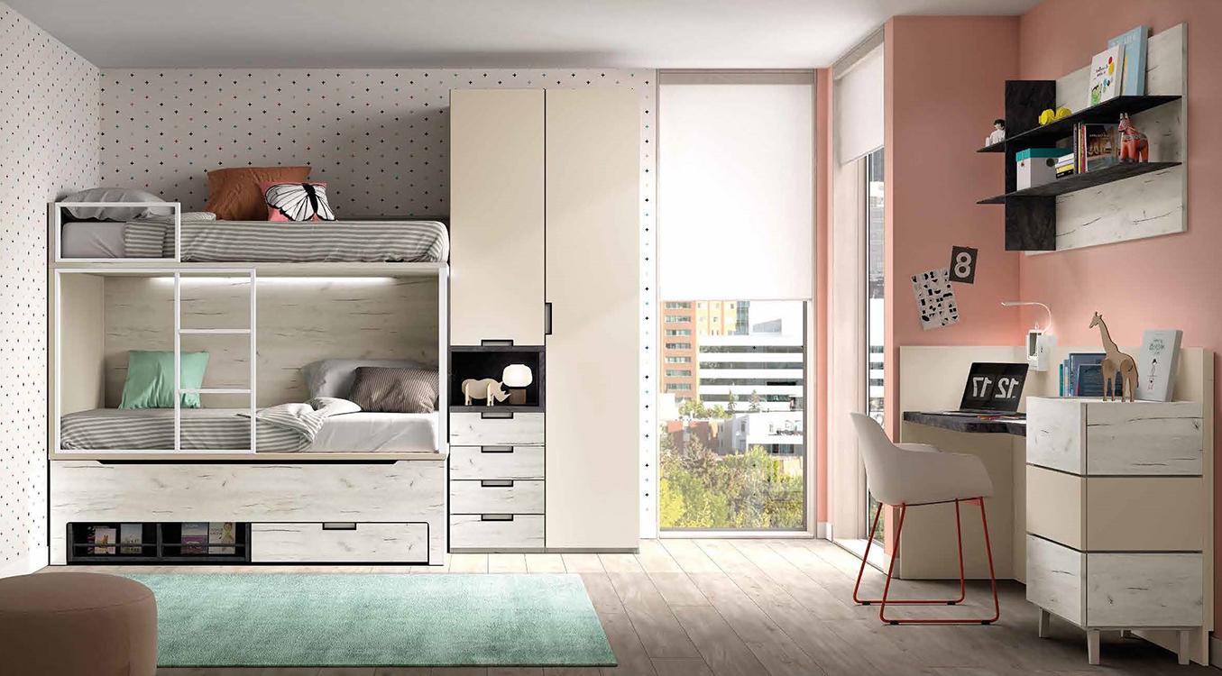 Oferta dormitorios juveniles for Ofertas de muebles juveniles