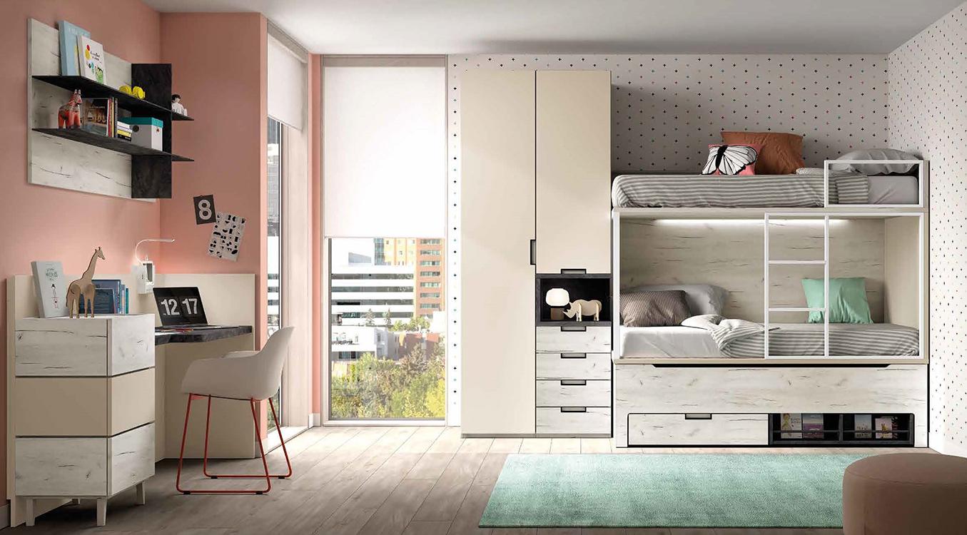 http://www.munozmuebles.net/nueva/catalogo/juveniles-modulares.html - Foto con  muebles hermosos