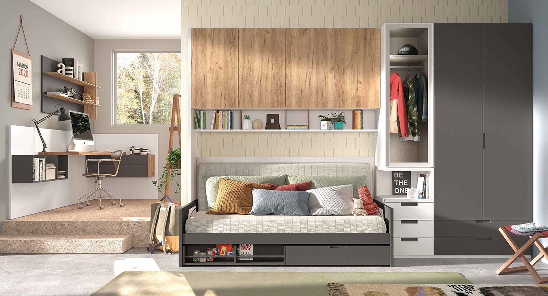 Muebles Mu Oz Juveniles Modulares Catalogo 16 # Cif Muebles La Fabrica