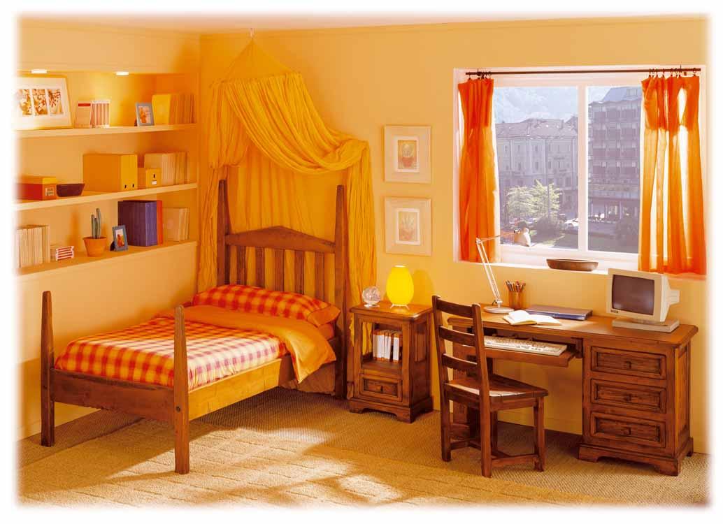 Dormitorios de matrimonio rojos - Habitaciones rusticas juveniles ...