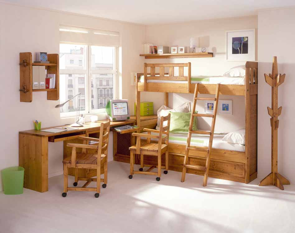 Armarios con puertas correderas color cerezo - Dormitorios originales ...