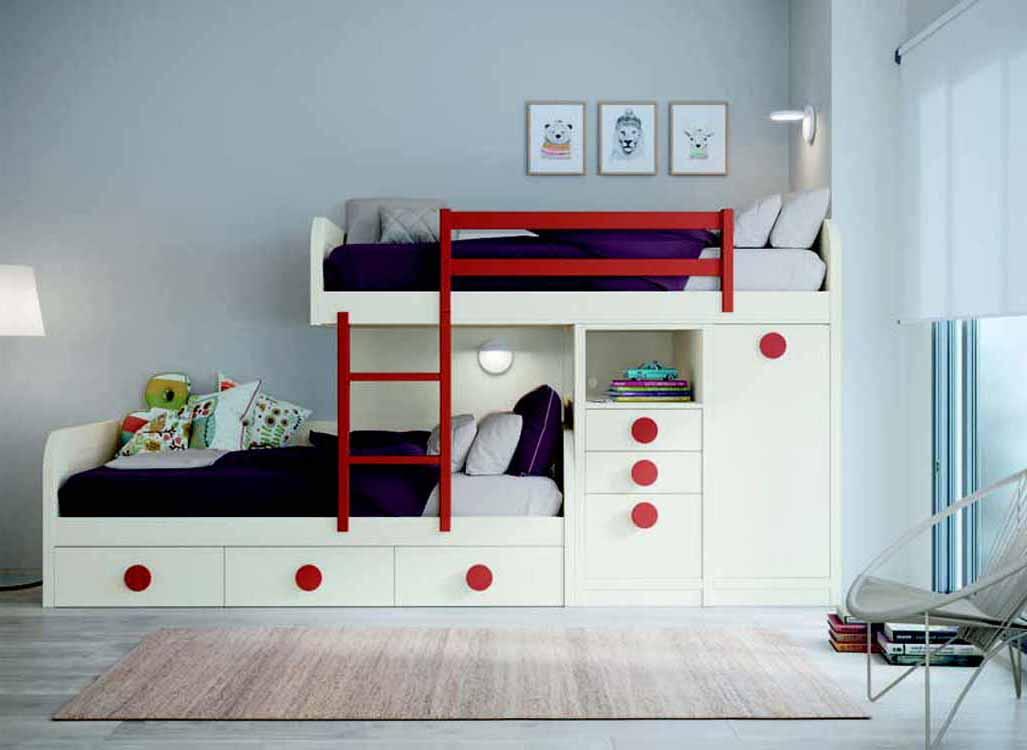 Muebles dormitorios juveniles modernos for Ver modulares modernos