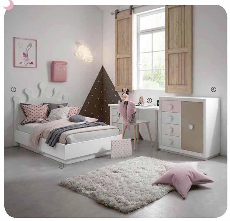 Camas ni os nicas for Dormitorios juveniles modernos precios