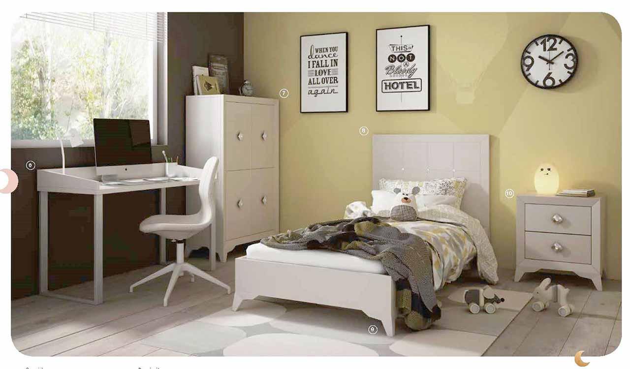 http://www.munozmuebles.net/nueva/catalogo/juveniles-modulares.html - Muebles  de melamina pintados