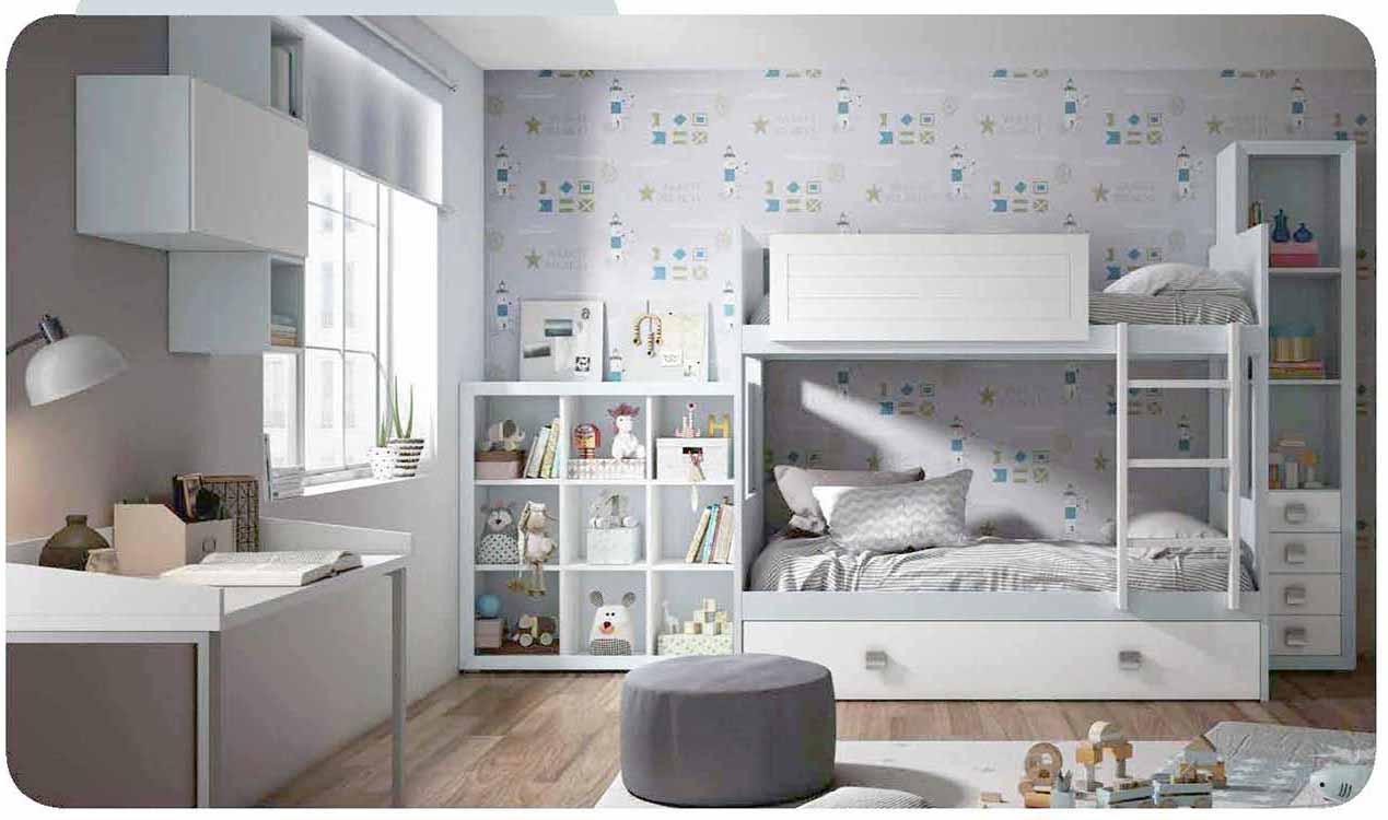 Estanter as habitaci n juvenil - Estanterias habitacion juvenil ...