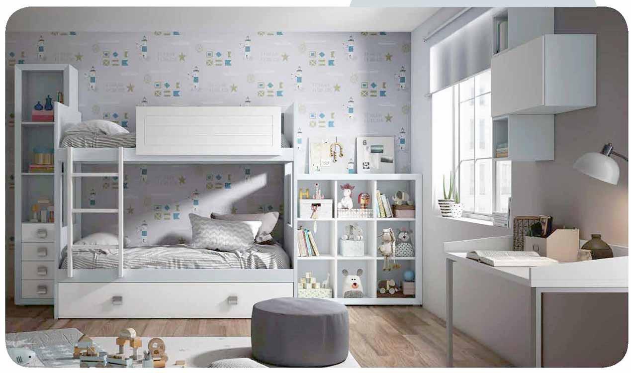 http://www.munozmuebles.net/nueva/catalogo/juveniles-macizos.html - Conjuntos de  muebles de color calabaza