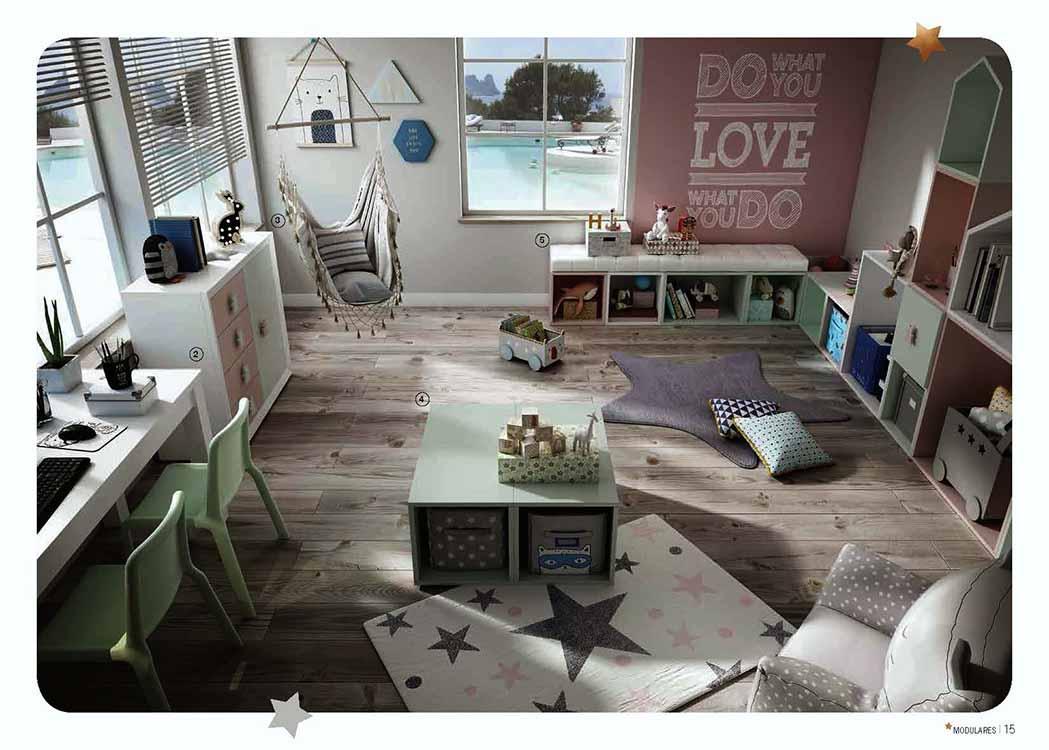 Armarios con puertas correderas de madera - El mueble habitaciones infantiles ...