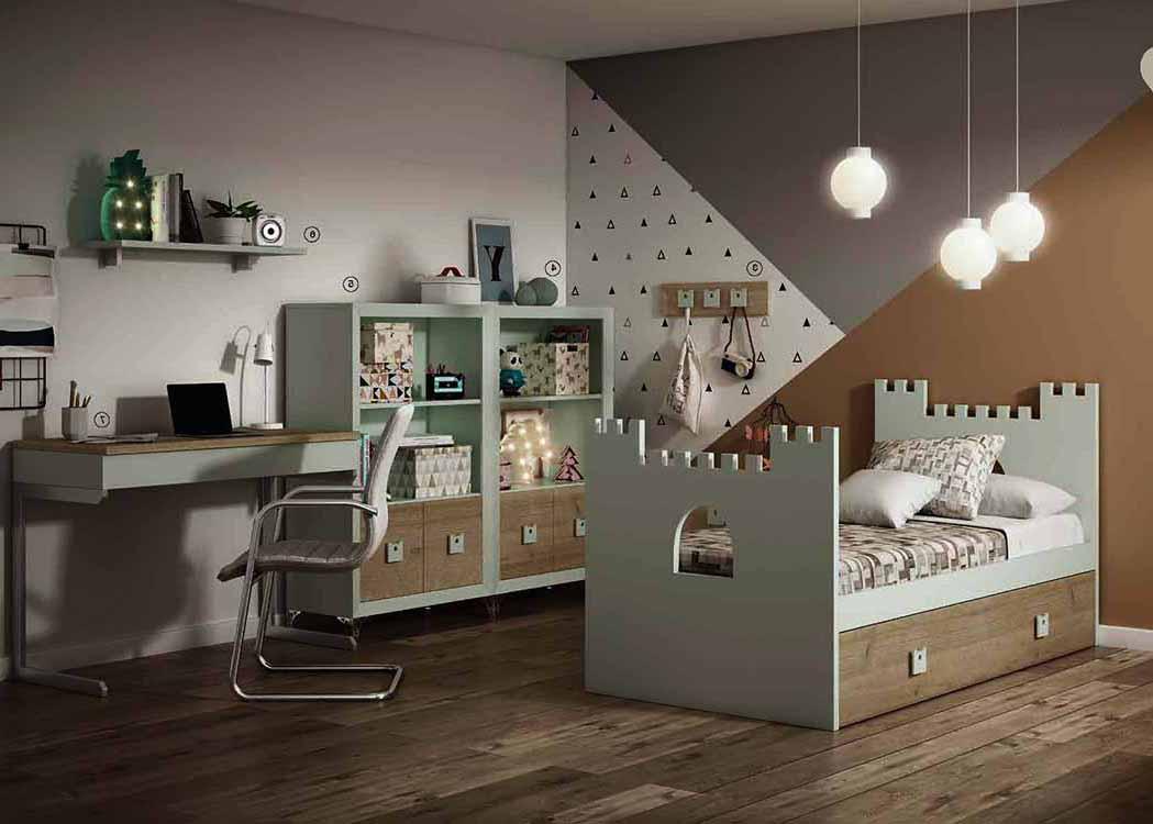 Muebles juveniles en madrid for Cabeceros y canapes