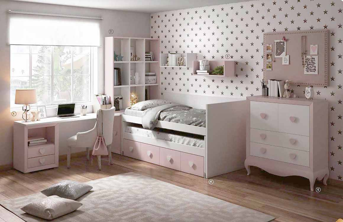 Dormitorios provenzales para ni os - Cuartos infantiles nino ...