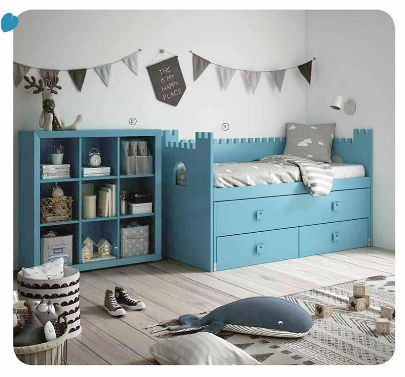 Armarios de habitaci n color teka for Armarios para dormitorios juveniles