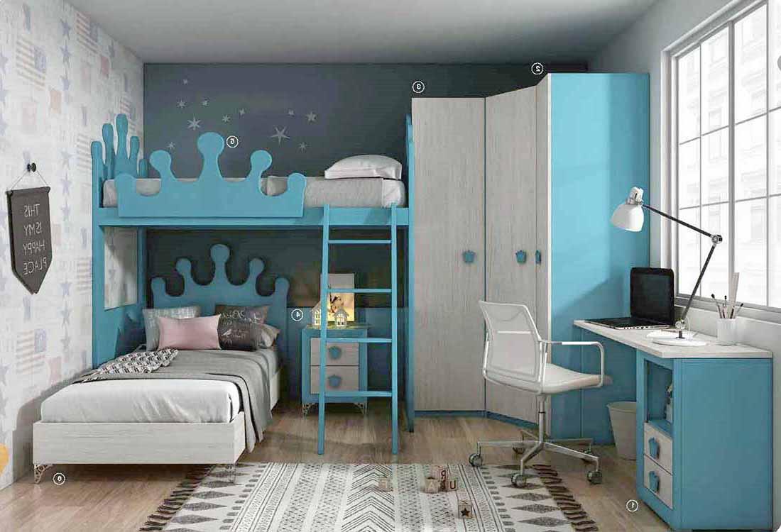 Habitaci n cama abatible - Habitacion juvenil cama abatible ...
