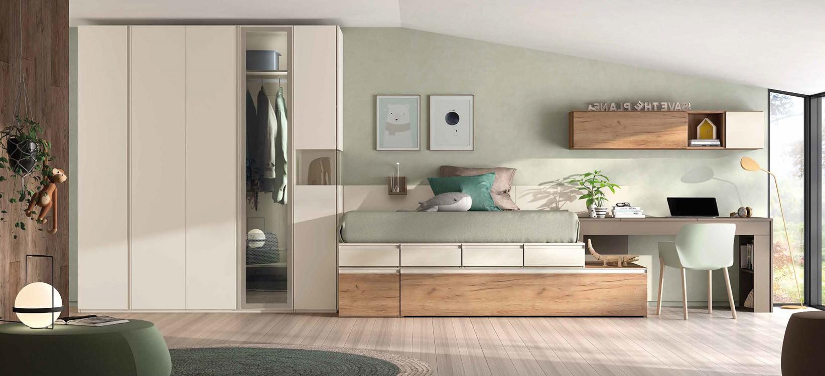 Comprar dormitorios infantiles for Muebles modulares juveniles