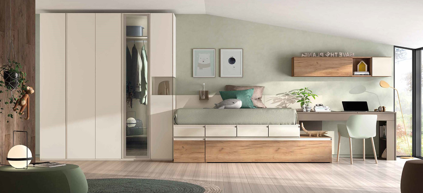 Ofertas en dormitorios juveniles for Ofertas de muebles juveniles