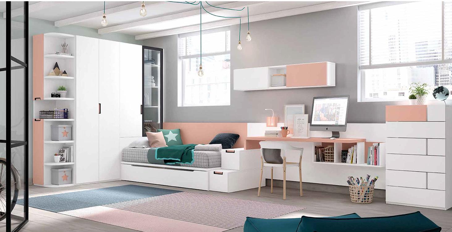 Cama nido 105 for Sofas para habitaciones juveniles