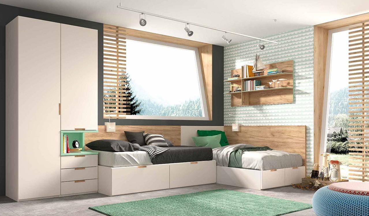 Dormitorio de ni o - Dormitorios juveniles nino ...