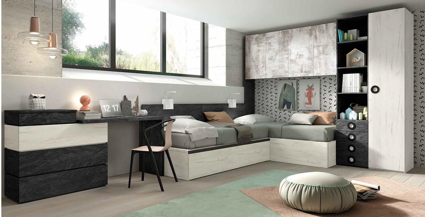 Habitaciones modernas a medida - Habitaciones modulares juveniles ...