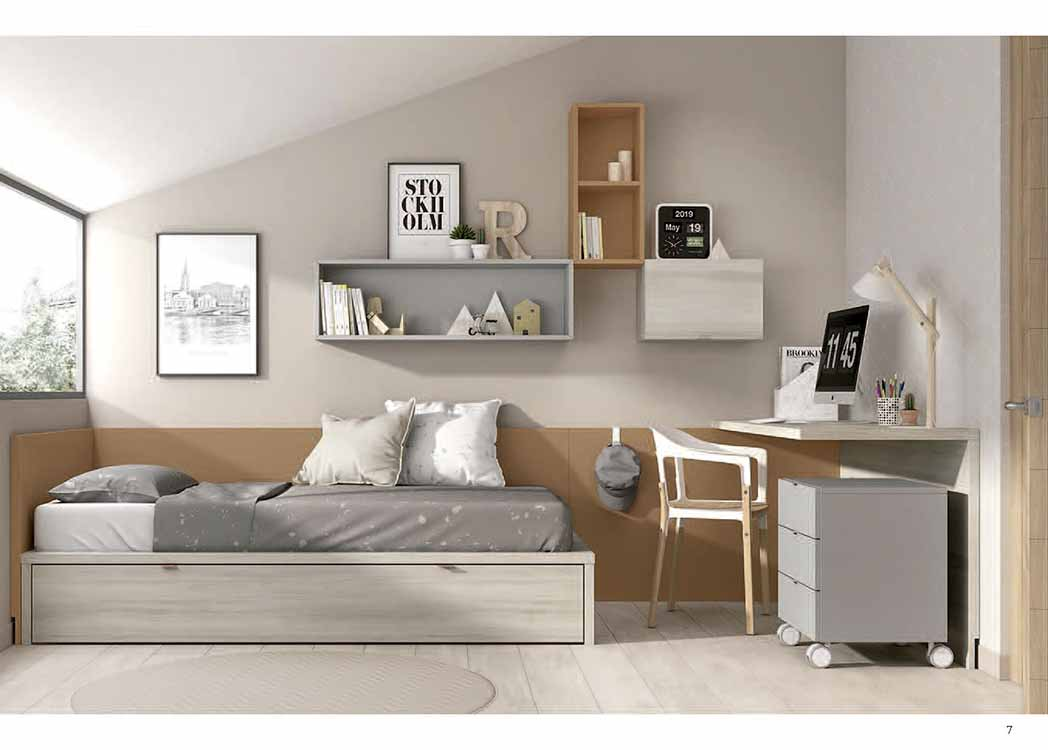 http://www.munozmuebles.net/nueva/catalogo/juveniles-modulares.html - Foto con  muebles de avellano