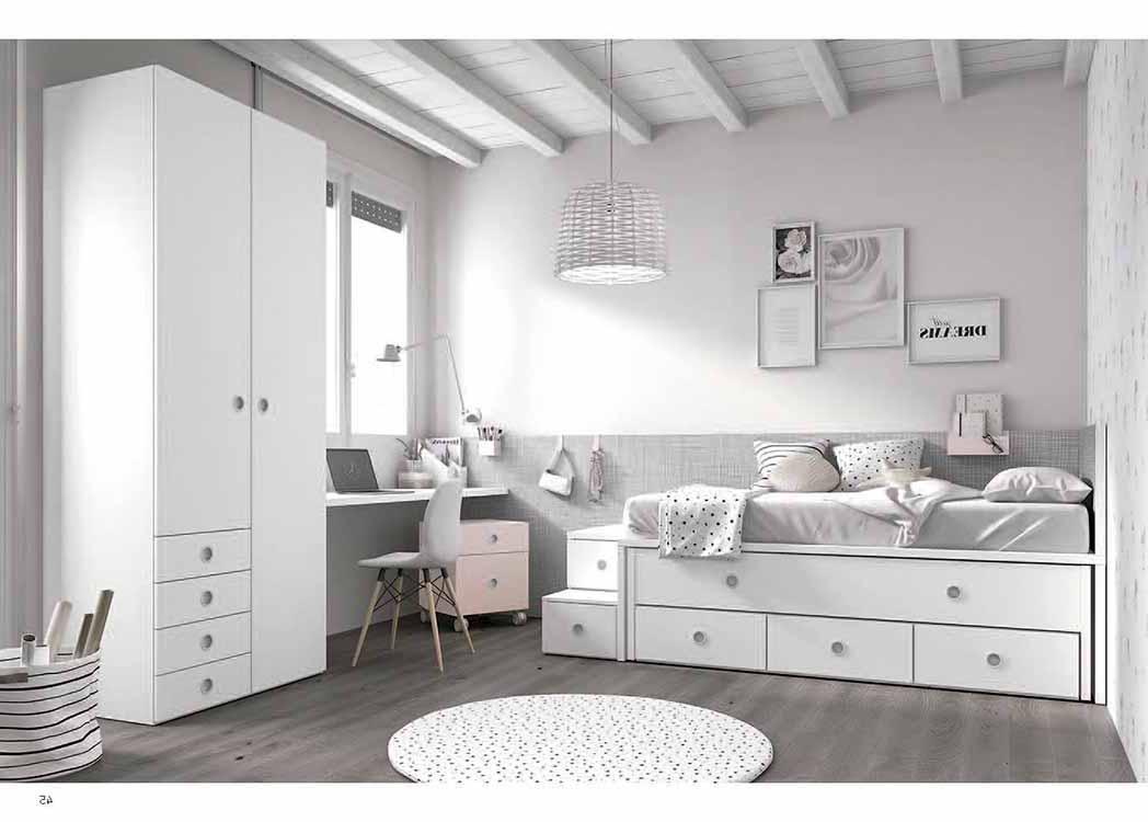 Precios dormitorios infantiles for Habitaciones juveniles completas baratas