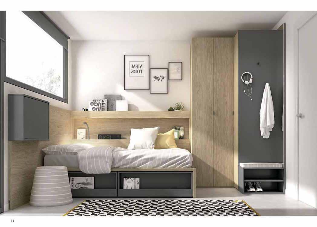 habitaciones juveniles rusticas