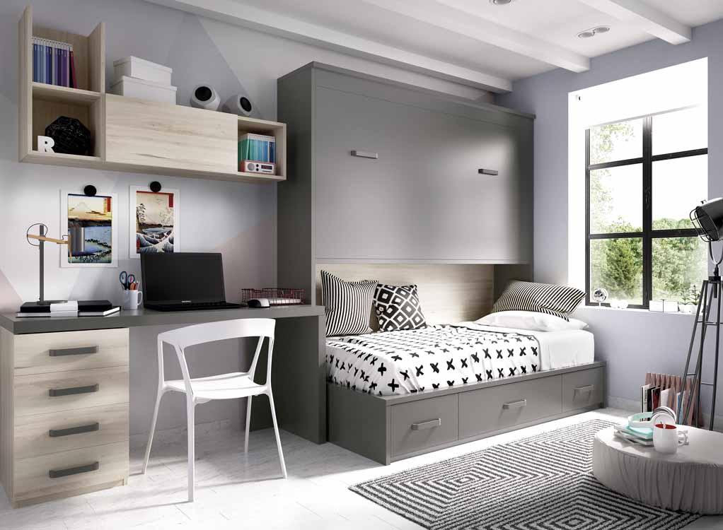 http://www.munozmuebles.net/nueva/catalogo/juveniles-modulares.html - Fotografías  con muebles de color rosa