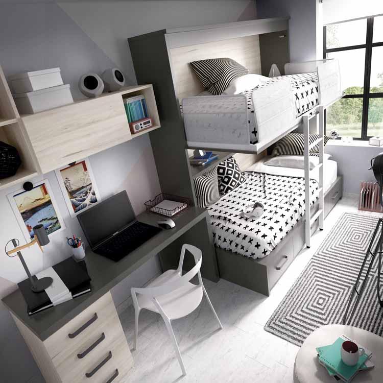 http://www.munozmuebles.net/nueva/catalogo/juveniles-modulares.html - Medidas  de muebles a precio de outlet