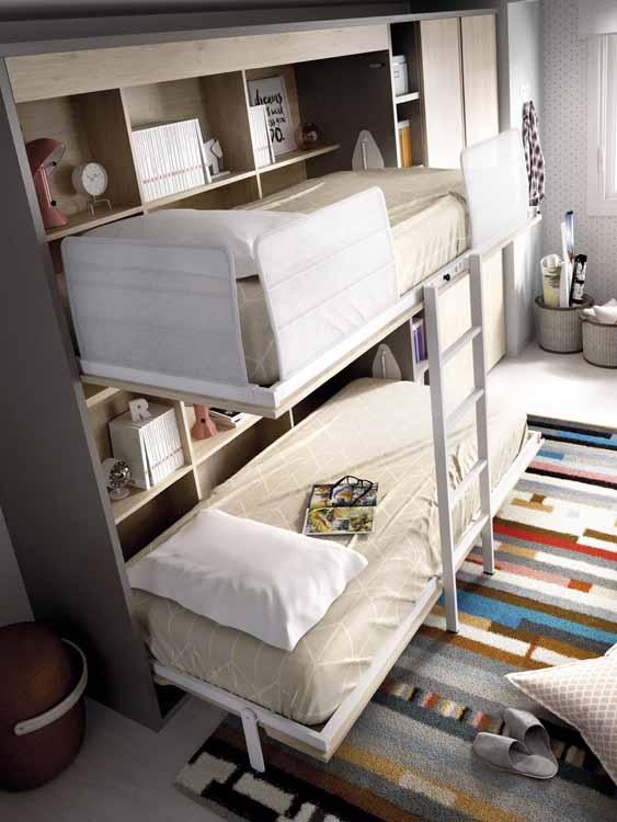 http://www.munozmuebles.net/nueva/catalogo/juveniles-modulares.html - Foto de  mueble con baldas