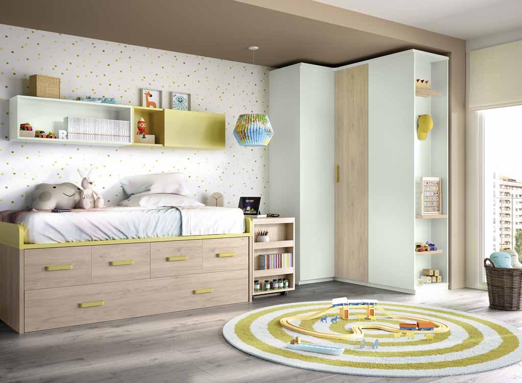 http://www.munozmuebles.net/nueva/catalogo/juveniles-macizos.html - Fotografía de  muebles de color topacio