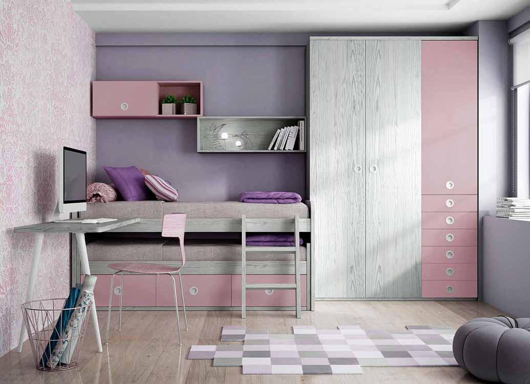 http://www.munozmuebles.net/nueva/catalogo/juveniles-macizos.html - Fotografías con  muebles con entrega y montaje
