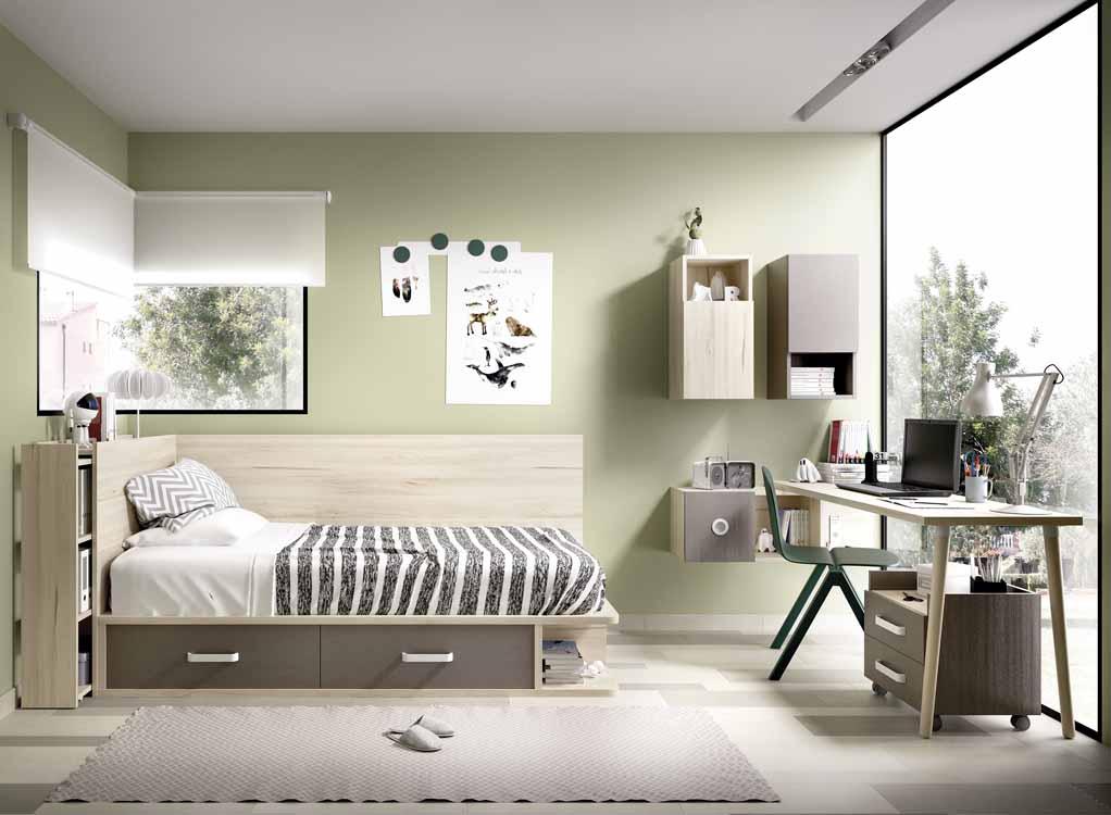 http://www.munozmuebles.net/nueva/catalogo/juveniles-macizos.html - Foto con  muebles envejecidos
