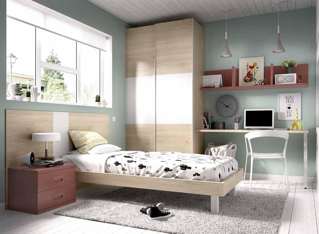 Dormitorios juveniles modernos de dise o for Sofas para habitaciones juveniles