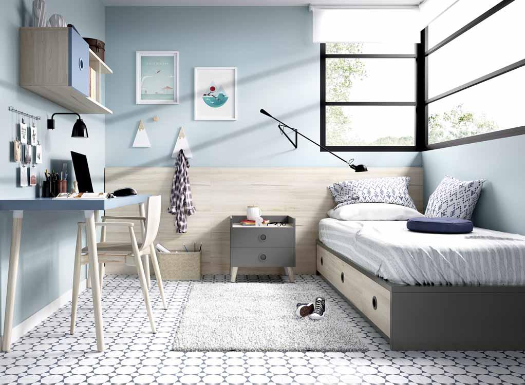 Cat logos de camas dobles - Dormitorios infantiles dobles ...