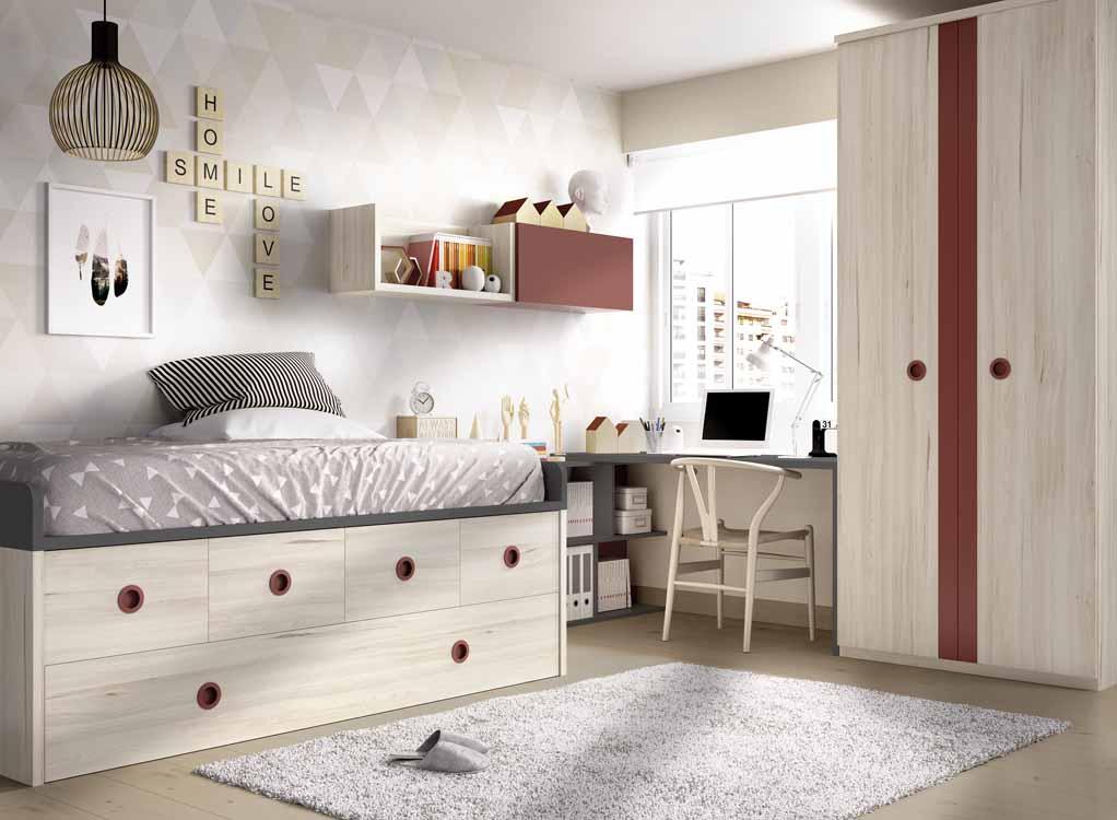 Repisas para ni os for Modelos de dormitorios para ninos
