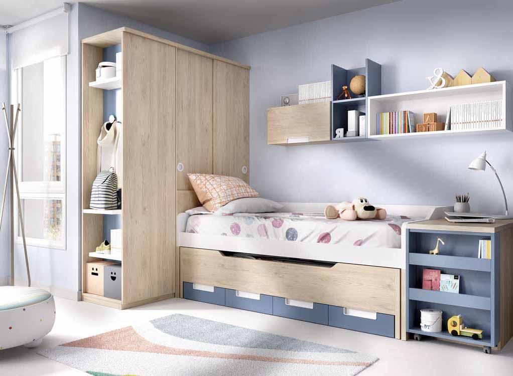Tienda de camas para ni os for Muebles modulares juveniles