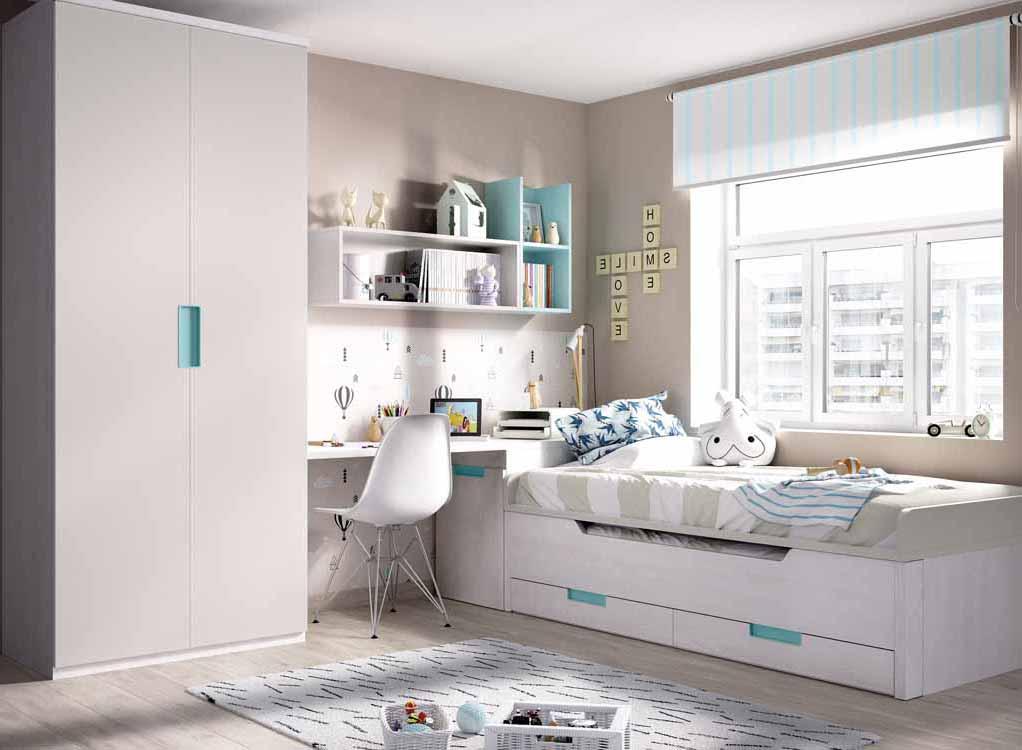 Dormitorio juvenil dise o for Diseno de muebles dormitorios juveniles