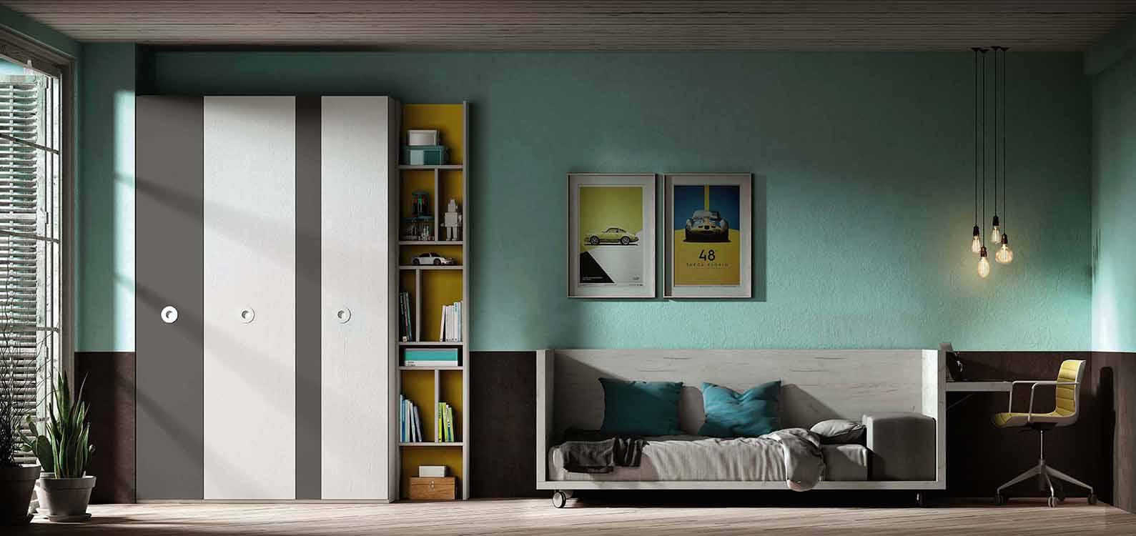 Tendencias en camas for Muebles modulares juveniles