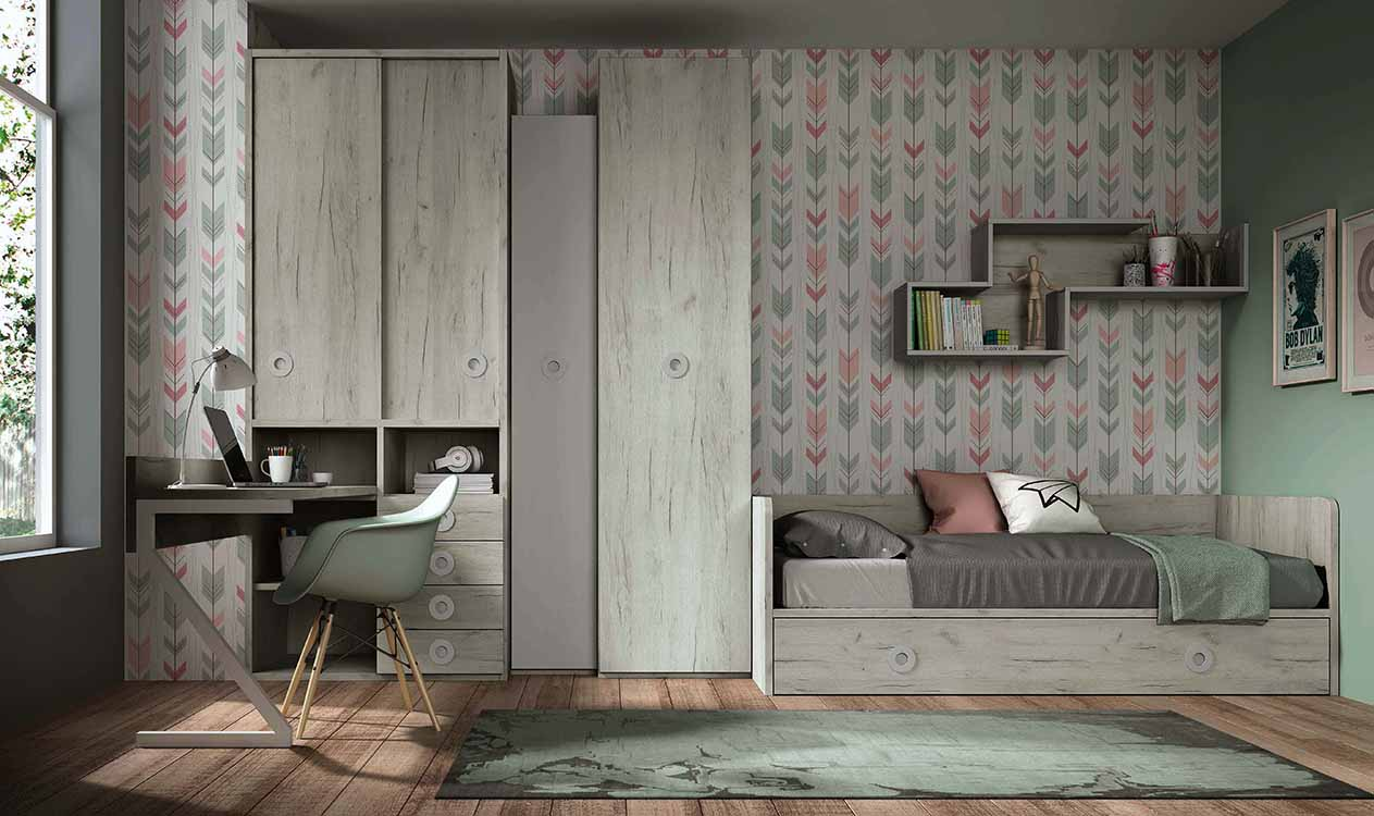 http://www.munozmuebles.net/nueva/catalogo/juveniles-modulares.html -  Espectaculares muebles de madera de avellano