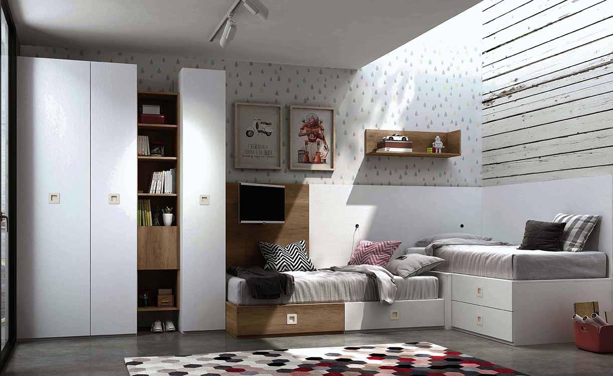 http://www.munozmuebles.net/nueva/catalogo/juveniles-modulares.html - Fotografías  de muebles en tonos tostados o colores tierras