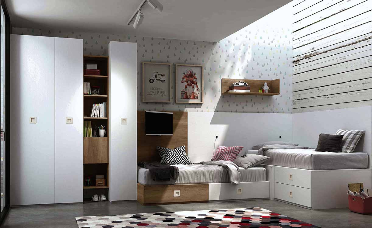 http://www.munozmuebles.net/nueva/catalogo/juveniles-modulares.html - Ideas  sobre muebles diferentes