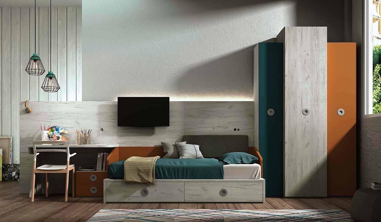 http://www.munozmuebles.net/nueva/catalogo/juveniles-modulares.html -  Establecimientos de muebles de color gris