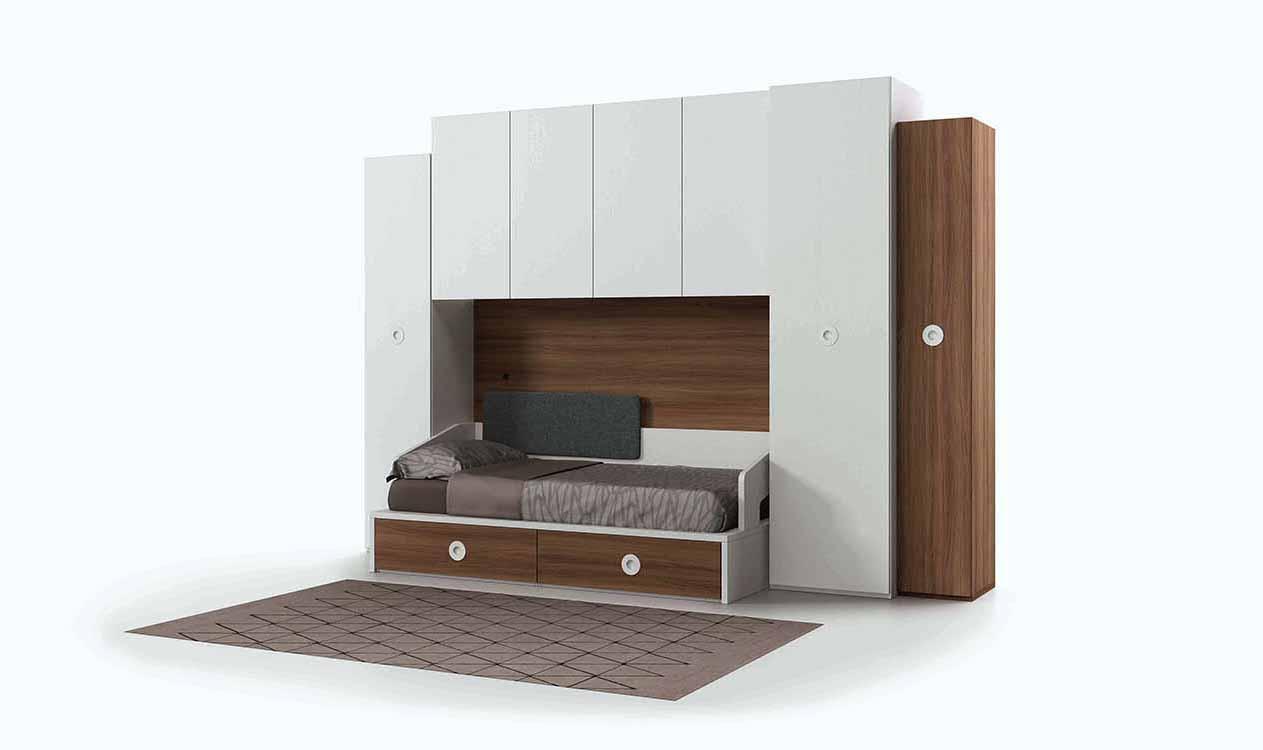 Dormitorios Juveniles Pequeños Espacios