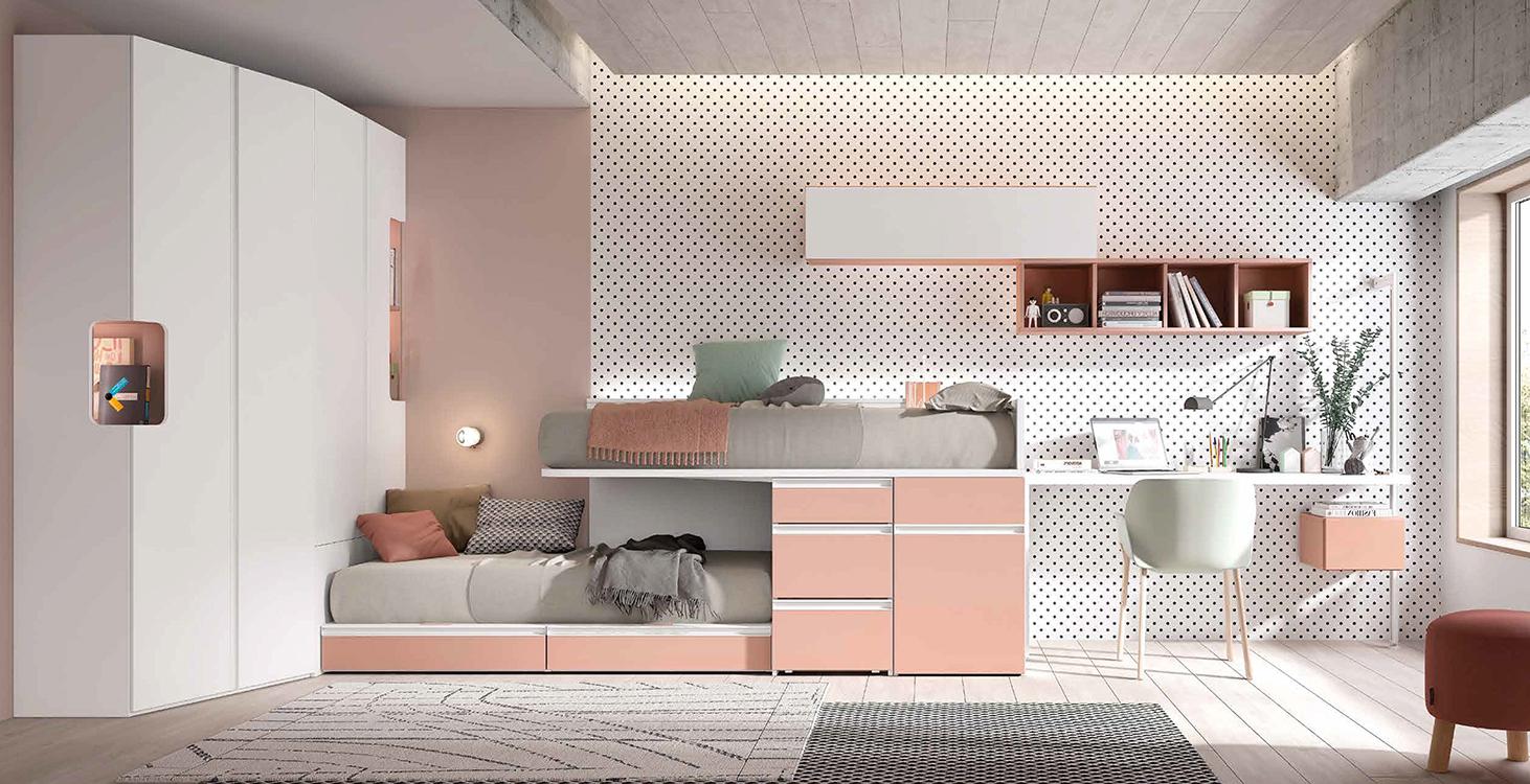 Literas que ocupan poco espacio for Ideas muebles para poco espacio