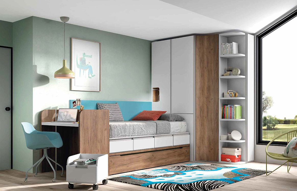 Literas tren baratas for Roperos para dormitorios modernos