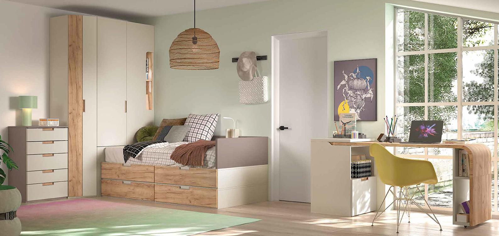 Roperos infantiles - Dormitorios modulares juveniles ...