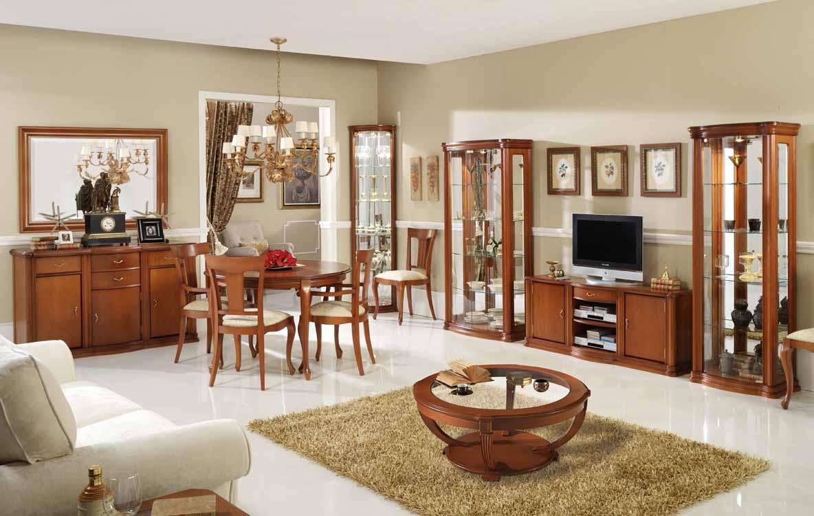 decoracion de interiores salones rusticos: Muñoz – Modelo: Código 0004 – Catálogo 10 – Salones Rústicos