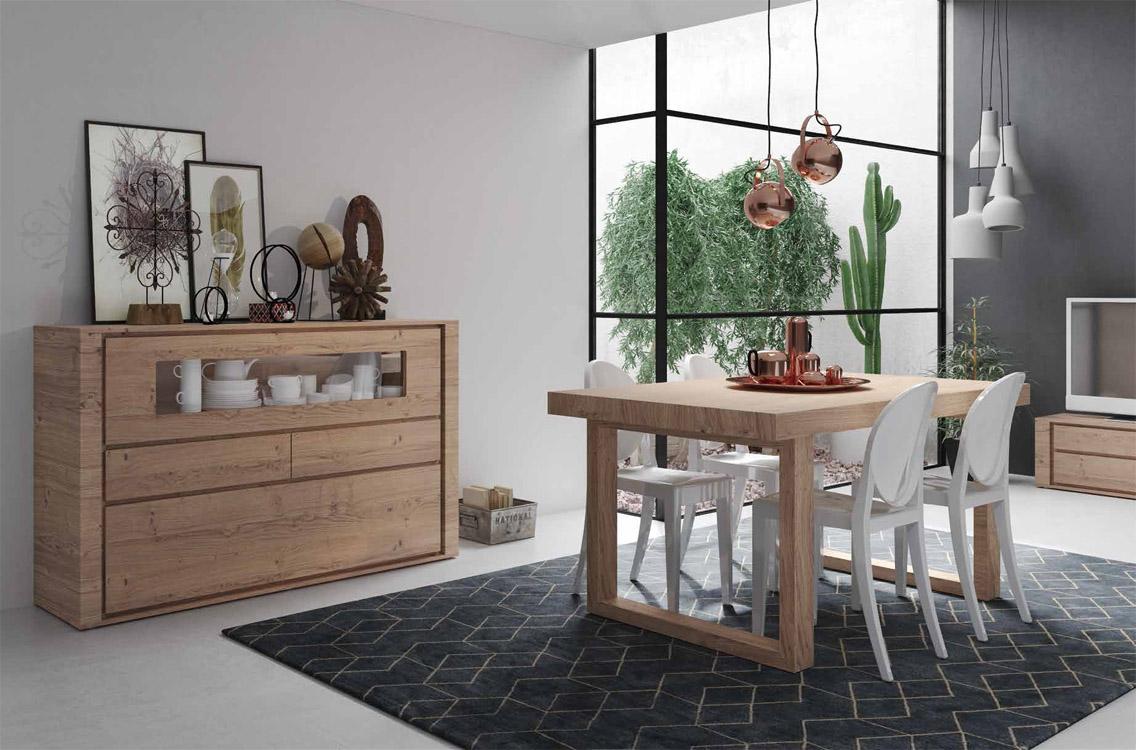 Muebles comedor modernos baratos for Muebles rusticos baratos