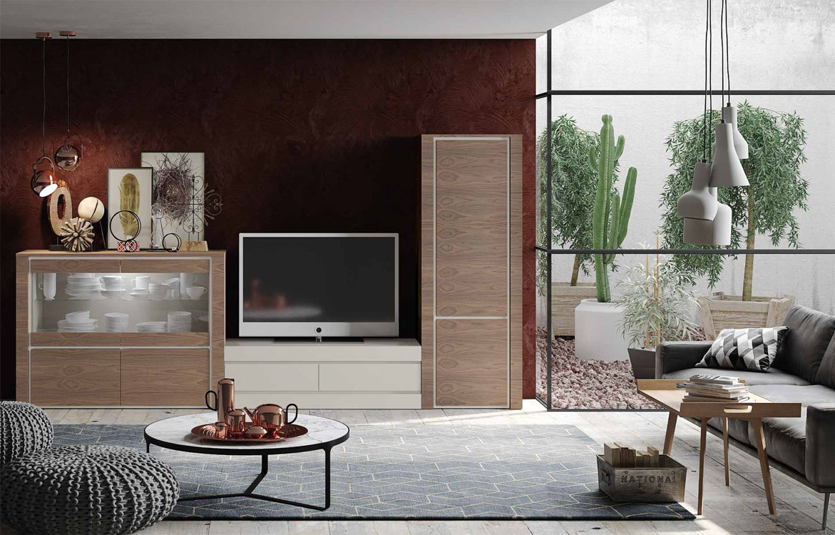 Muebles Muñoz  Modelo Código 0571  Catálogo 2  Salones Modernos