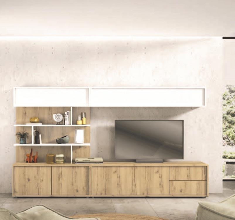 Muebles para la sala modernos panel para lcd led modular for Muebles sala y comedor modernos