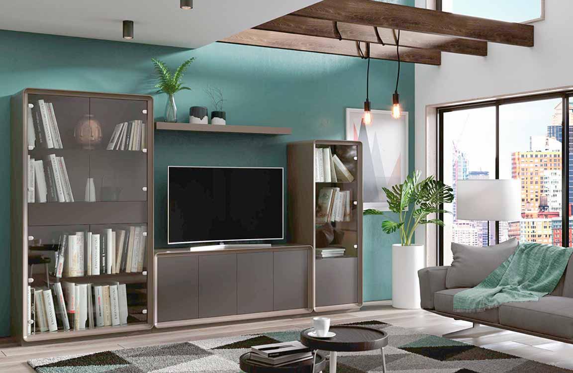 Muebles de sal n coloniales for Ver modulares modernos