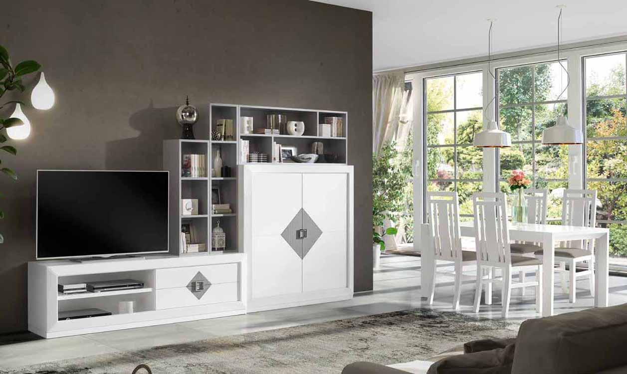 Muebles madera baratos - Salones rusticos baratos ...